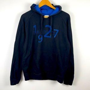 ✨3/$25✨Lacoste Sport Black/Blue Pullover Hoodie